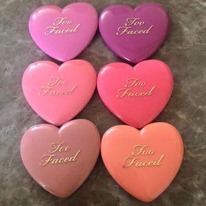Too Faced Love Flush Blush Lot